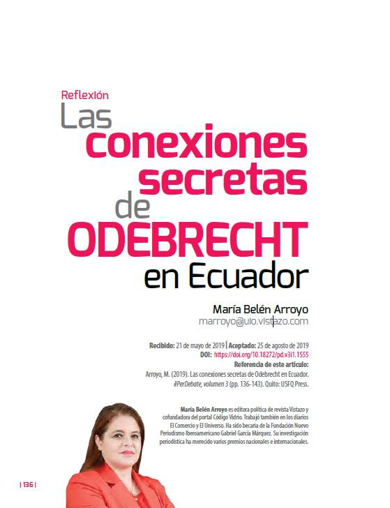 Conexiones secretas de Odebrecht en Ecuador