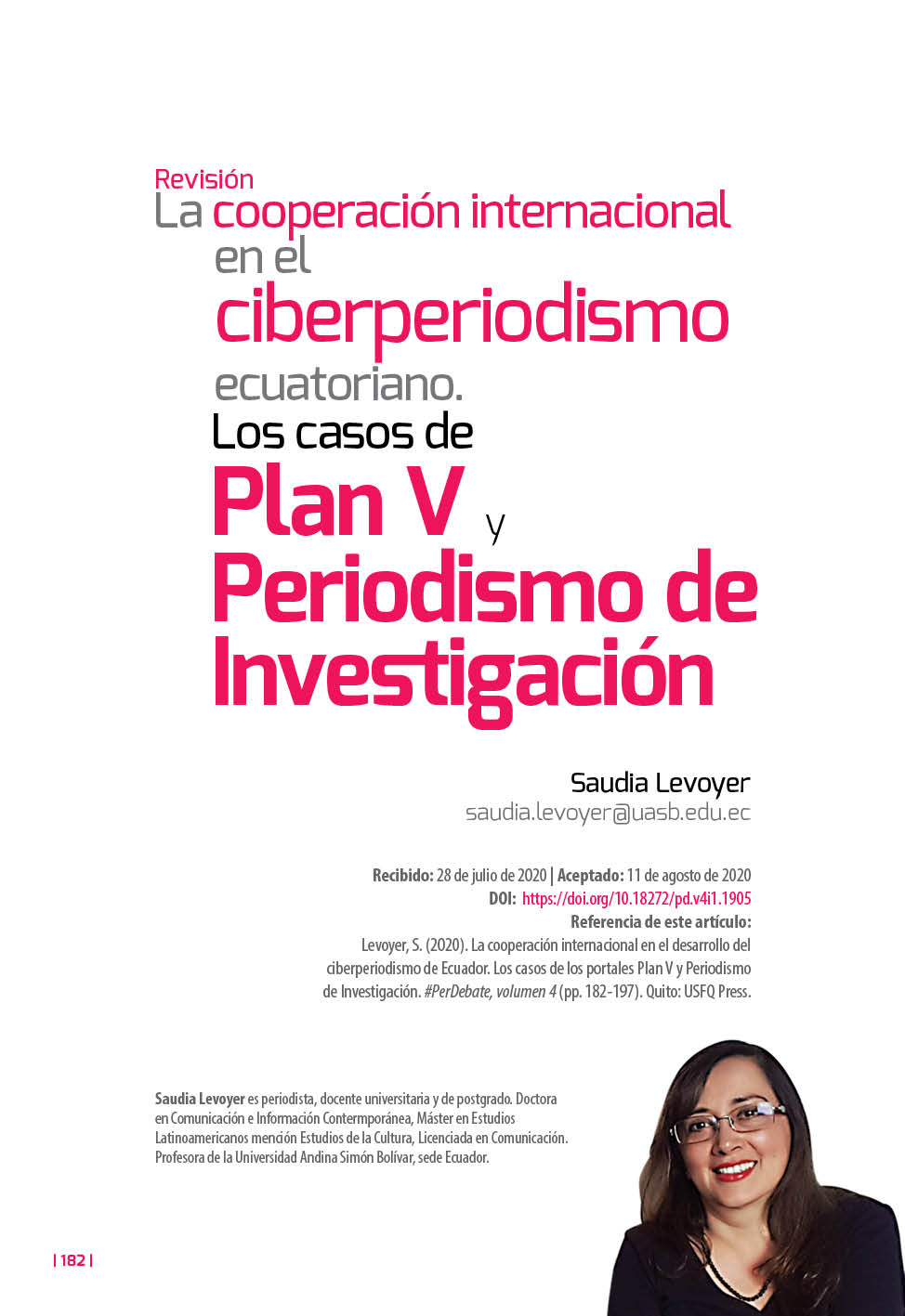 Ciberperiodismo Ecuador