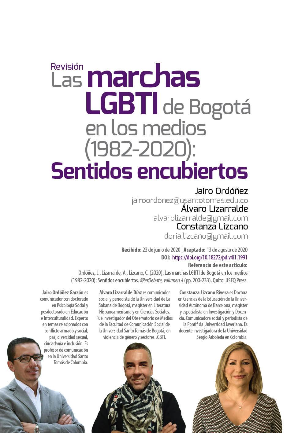 Marchas LGBTI Bogotá