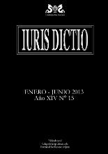 Portada Iuris Dictio Vol. 13 Núm. 15 (2013)