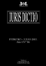 Portada Iuris Dictio Vol. 14 Núm. 16 (2015)
